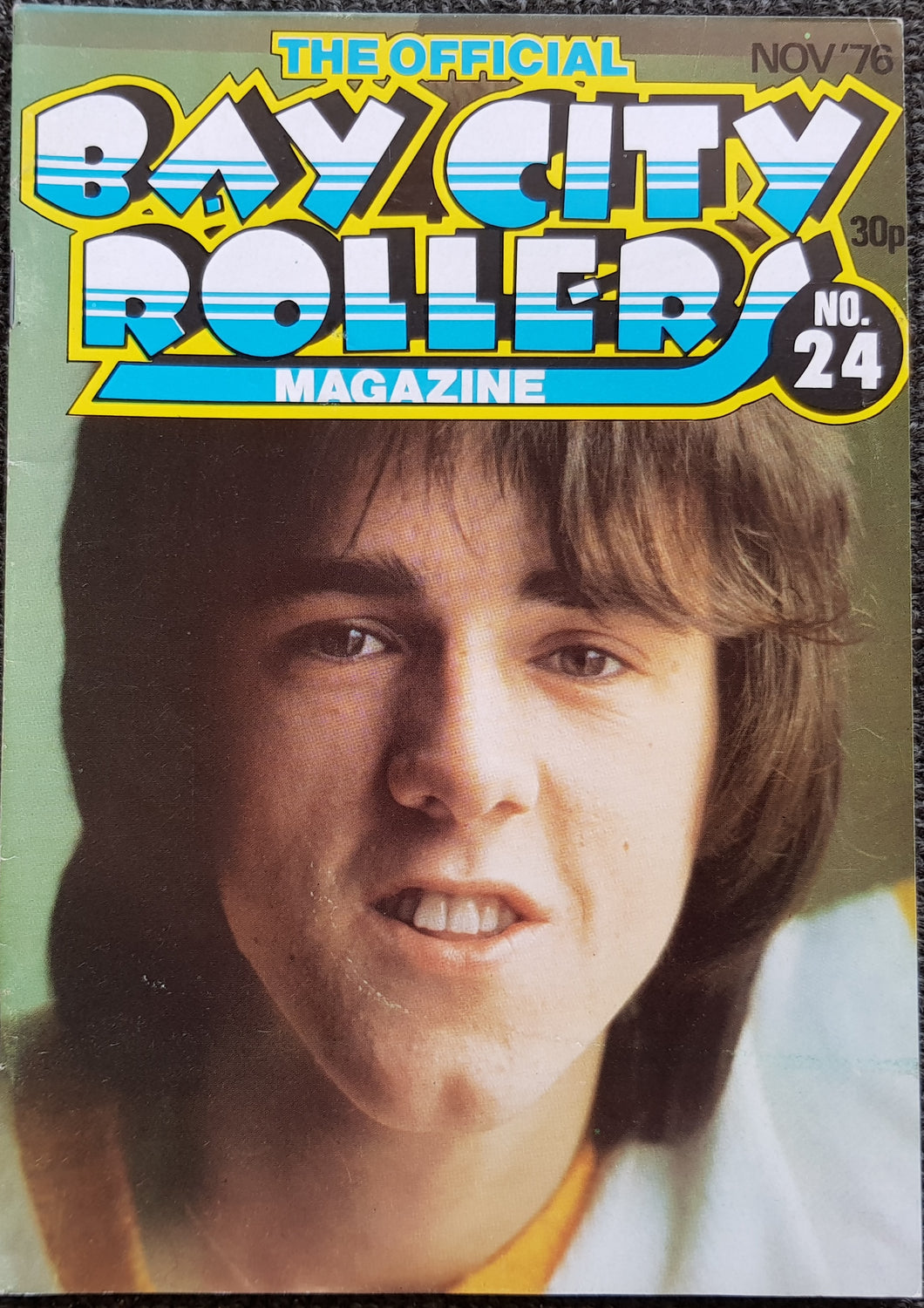 Bay City Rollers - The Official Bay City Rollers Magazine No.24