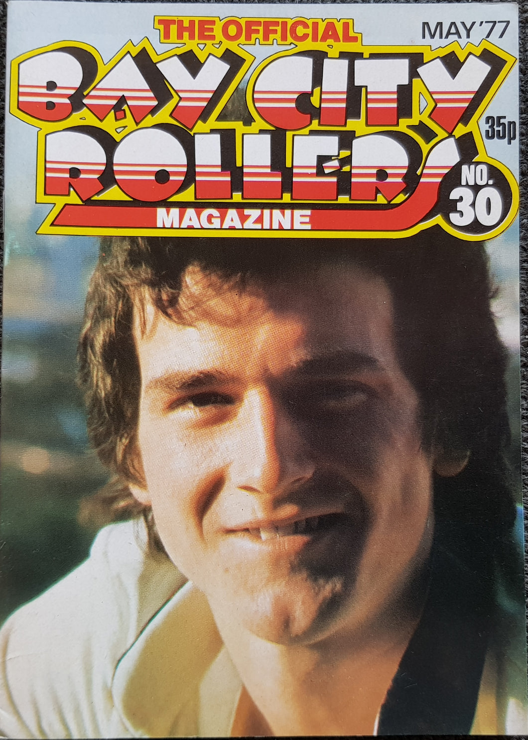 Bay City Rollers - The Official Bay City Rollers Magazine No.30