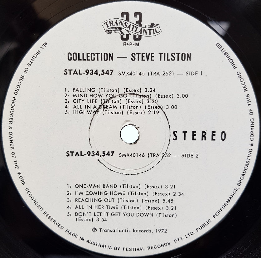 Steve Tilston - Collection