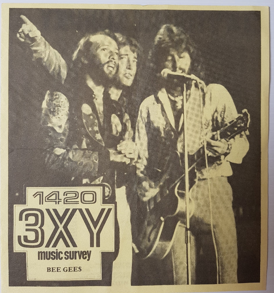 Bee Gees - 3XY Music Survey Chart