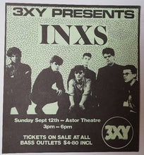 Load image into Gallery viewer, Inxs - 3XY Music Survey Chart