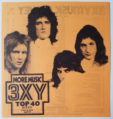 Queen - 3XY Music Survey Chart