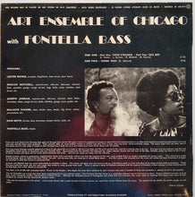 Load image into Gallery viewer, Art Ensemble Of Chicago - Art Ensemble Of Chicago With Fontella Bass