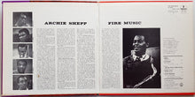 Load image into Gallery viewer, Archie Shepp - Fire Music
