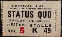 Load image into Gallery viewer, Status Quo - 1975