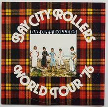 Load image into Gallery viewer, Bay City Rollers - World Tour '76