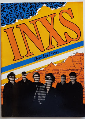 Inxs - Listen Like Thieves World Tour 1985 - 1986