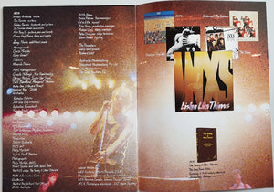 Listen Like Thieves World Tour 1985 - 1986