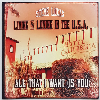 X (Steve Lucas) - Living And Loving In The U.S.A.