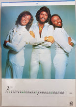 Load image into Gallery viewer, Bee Gees - 1980 Popular Calendar