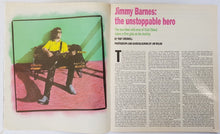 Load image into Gallery viewer, Jimmy Barnes - Rolling Stone July 1986