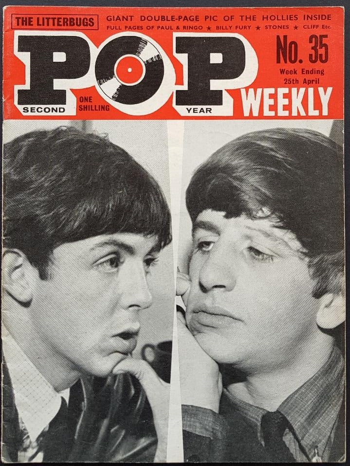 Beatles - Pop Weekly No.35