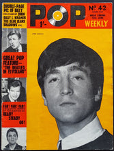 Load image into Gallery viewer, Beatles - Pop Weekly No.42