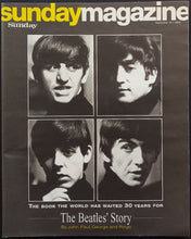 Load image into Gallery viewer, Beatles - Sunday Magazine