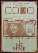 Load image into Gallery viewer, Beatles (George Harrison) - I Me Mine