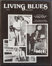Load image into Gallery viewer, Big Bill Broonzy - Living Blues Winter 1982/83