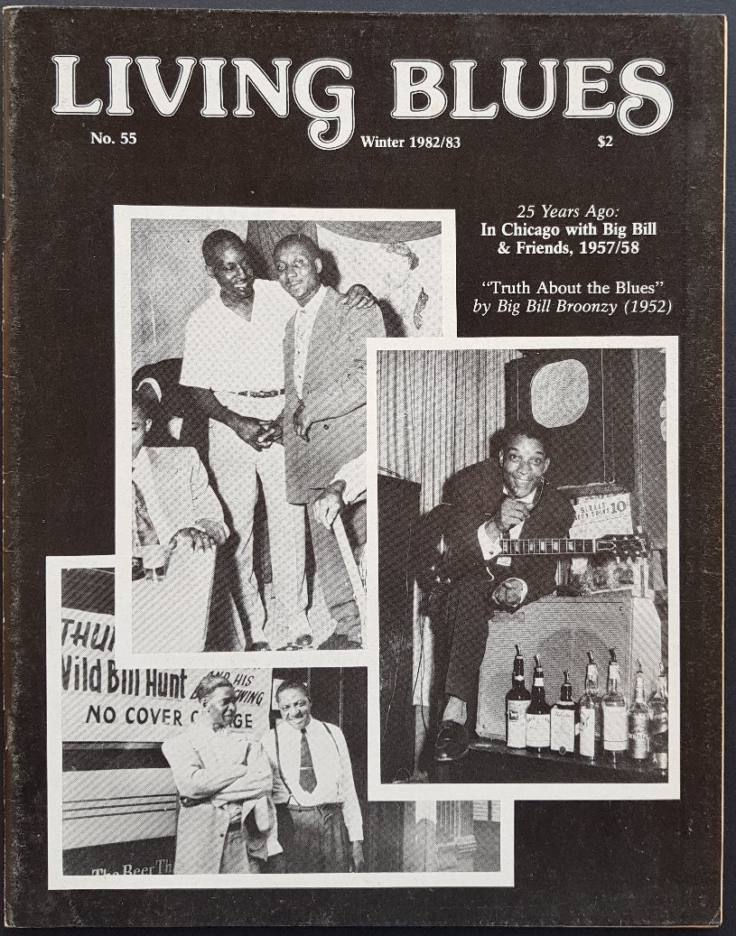 Big Bill Broonzy - Living Blues Winter 1982/83