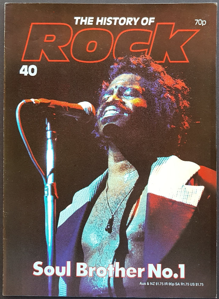 Brown, James - The History Of Rock 40