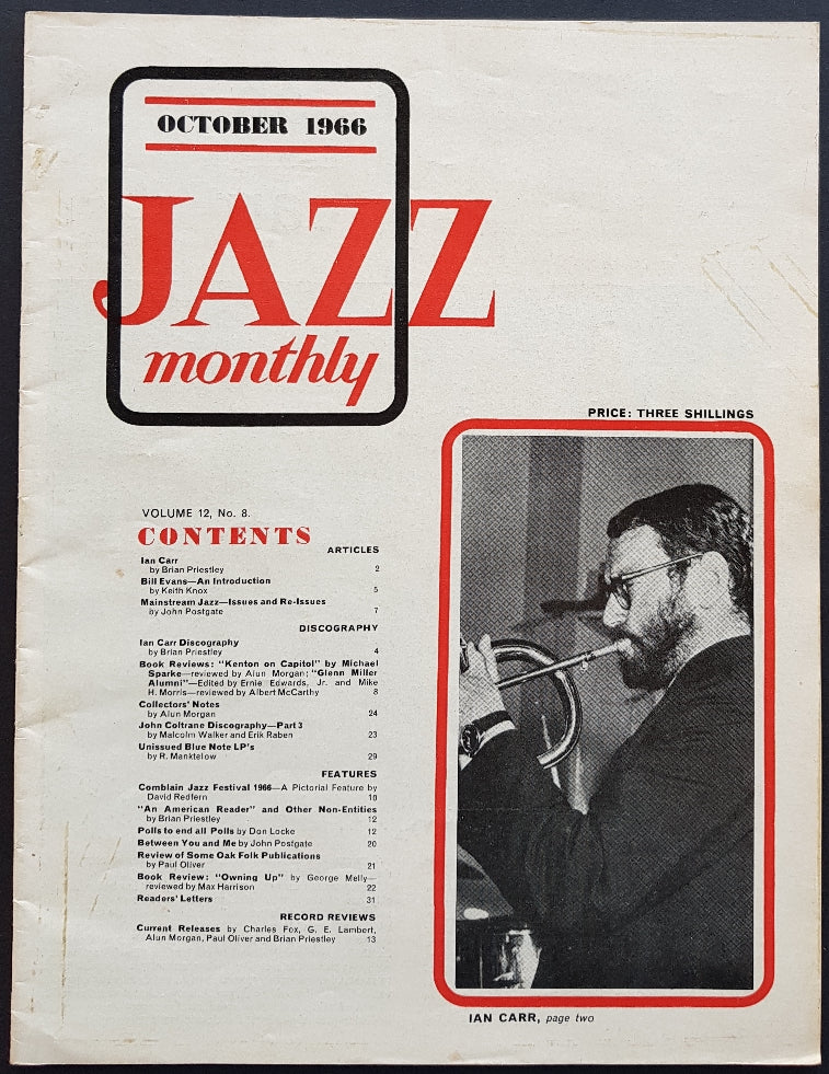 Carr, Ian - Jazz Monthly