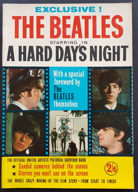 Beatles - The Beatles Starring In A Hard Day's Night
