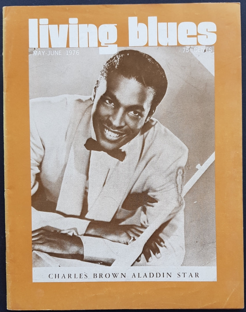 Living Blues May - June 1976