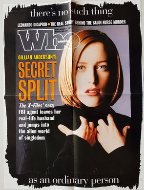 X-Files (Gillian Anderson) - Who Weekly