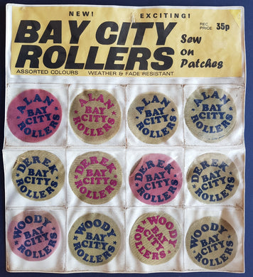 Bay City Rollers - Sew On Patches