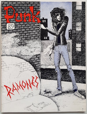 Ramones - Punk Vol.1 No.3 April 1976
