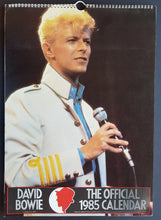 Load image into Gallery viewer, David Bowie - The Official 1985 Calendar