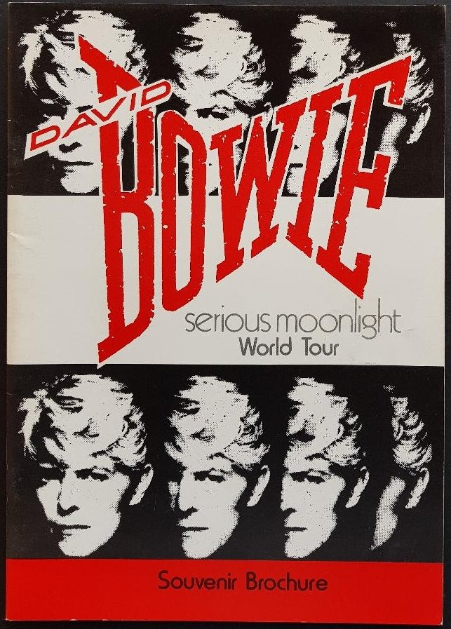 David Bowie - Serious Moonlight World Tour Souvenir Brochure