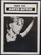 Load image into Gallery viewer, David Bowie - Photo File