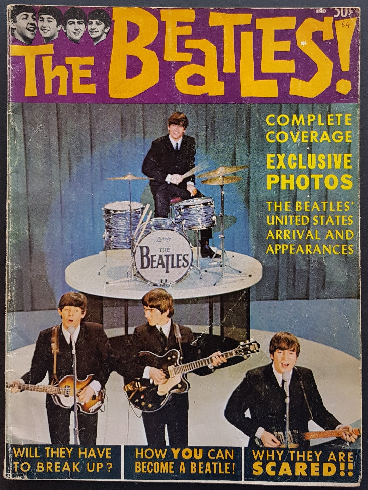 Beatles - Complete Coverage Of New York Appearance