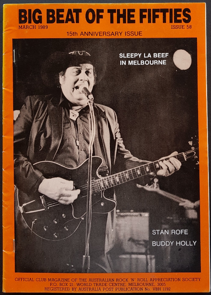 Sleepy Labeef - Big Beat Of The Fifties March 1989 Issue 58