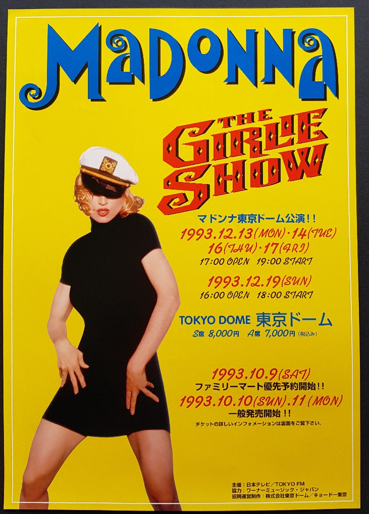 Madonna - The Girlie Show