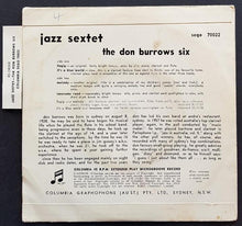 Load image into Gallery viewer, Don Burrows - Jazz Sextet