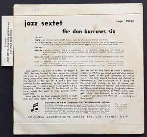 Don Burrows - Jazz Sextet