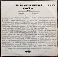 Load image into Gallery viewer, Davis, Miles - 'Round About Midnight