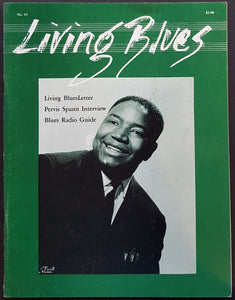 Spann, Pervis - Living Blues No.65