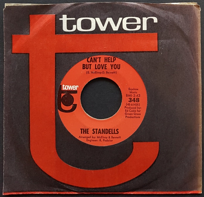 Standells - Can't Help But Love You