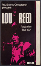 Load image into Gallery viewer, Reed, Lou - Australian Tour 1974