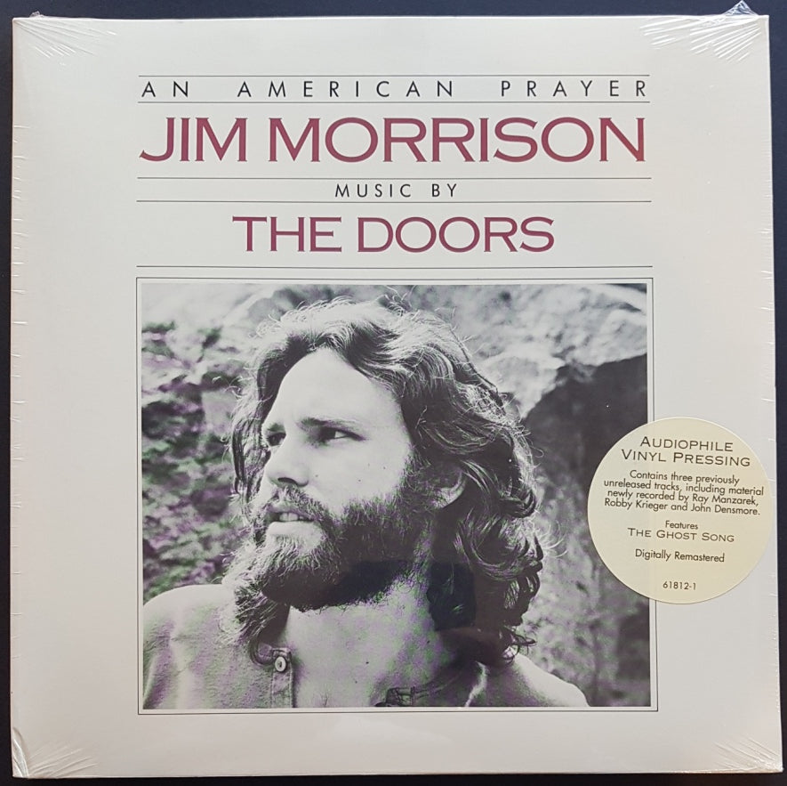 An American Prayer Jim Morrison Music By The Doors