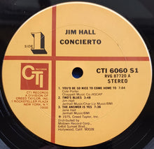 Load image into Gallery viewer, Hall, Jim - Concierto