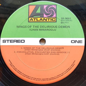 Ilhan Mimaroglu - Wings Of The Delirious Demon And Other Electronic