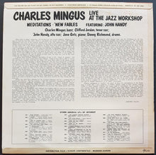 Load image into Gallery viewer, Charles Mingus - Right Now: Live At The Jazz Workshop