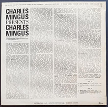 Load image into Gallery viewer, Charles Mingus - Presents Charles Mingus