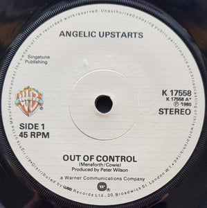 Angelic Upstarts - Out Of Control