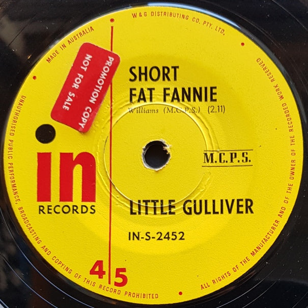 Little Gulliver - Short Fat Fannie / Oh Why