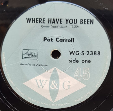 Carroll, Pat - Where Have You Been