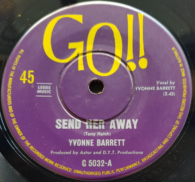 Yvonne Barrett - Send Her Away