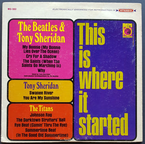 Beatles (Tony Sheridan) - This Is Where It Started